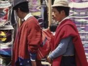 Men in Red - Otavalo 1991