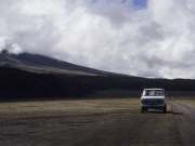 Parking at 4650 m - Cotopaxi 1991